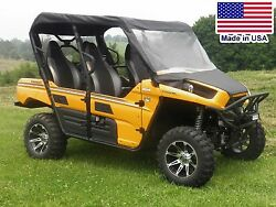 Partial Enclosure For Kawasaki Teryx 4 - Vinyl Windshield Roof And Rear Window