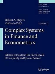 Complex Systems In Finance And Econometrics English Hardcover Book Free Shippi