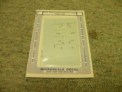Microscale Decals N 60-791 Santa Fe Quality Freight Cars Cov Hoppers 1990+ H93