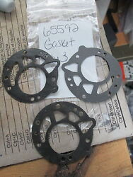 Nos Mcculloch Small Engine Chainsaw Fuel Pump Gasket 65592 65592-26 Qty3