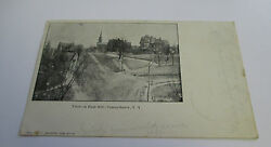 View On East Hill Canajoharie Ny 1901-1907