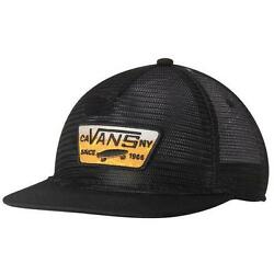 Off The Wall Full Patch Malted Beer Mesher Snapback Trucker Hat Cap New Nwt