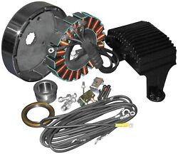 Cycle Electric 80 Series 50 Amp 3-phase Alternator Kit Ce-86t