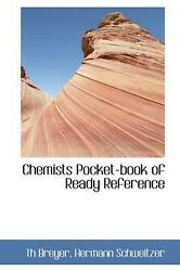 Chemists Pocket Book of Ready Reference by Th Breyer English Hardcover Book Fr