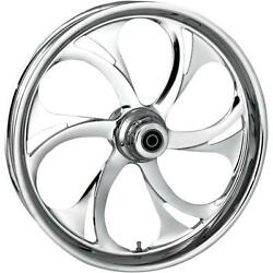 Rc Components Recoil Chrome 23x3.75 Front Wheel Dual Disc 23750-9031a-105