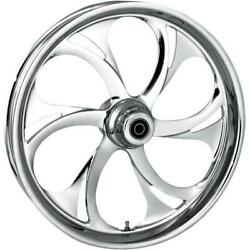 Rc Components Recoil Chrome 21x3.5 Front Wheel Dual Disc 21350-9031a-105