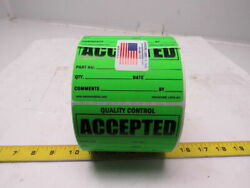 Kenmore Label And Tag L41g-ac 3x4 Self Sticking Accepted Tags Roll Of 1000