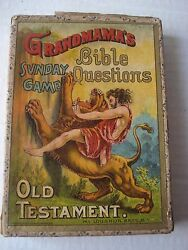 grandmama sunday game bible questions old