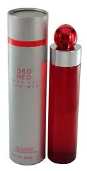 360 RED FOR MEN 6.7 6.8 OZ EDT SPRAY NEW IN A BOX BY PERRY ELLIS $36.90