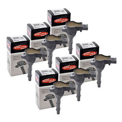 Set Of 6 Delphi Ignition Coils Gn10235 For Sprinter M..benz All Series 05-15