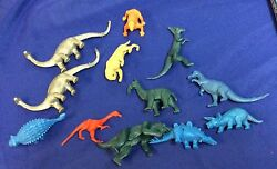 Original 1960and039s Marx Toys And Mpc Prehistoric Dinosaurs And Manimals Lot 11