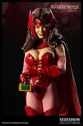 Sideshow Scarlet Witch Comiquette By Mark Brooks 1/5 Statue - Wandavision