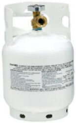 Manchester 10054.3 5 Lb Steel Lp Propane Tank W Qcc1 Valve And Overfill Device