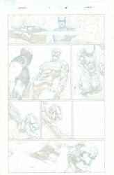 Avengers 1 P.15 Captain America Gets Beat Down By Aleph - 2013 By Jerome Opena