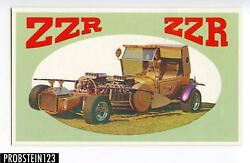 1970 Topps Way Out Wheels Color Proof Card Zzr