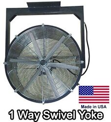 24 Ceiling Fan - 6000 Cfm - 230v - 1/2 Hp - 1 Way - 6 Blade - Totally Enclosed