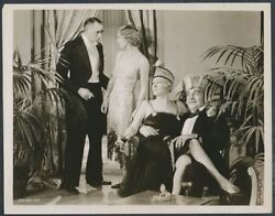 1920's Party Girl Silver Gelatin Masterpiece From The Roaring Twenties Photo