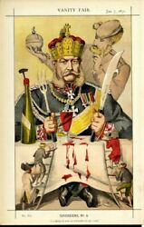 William Frederick The King Of Prussia Dictator Of Germany Emperor Freemason