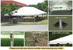 30x60 Classic Series Frame Tent Corporate Wedding Outdoor Event