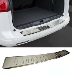 Mercedes E-class T S212 Bumper Stainless Steel Protector Guard Trim Cover Chrome