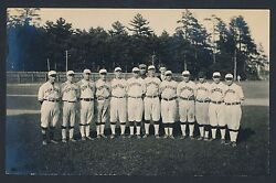 1919 Bowdion College Double Weight Vintage Baseball Team Photo