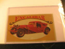 1970 Topps Way Out Wheels Proof Excalibar