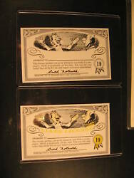 1964 Topps Nutty Awards 2 Proof Card 19