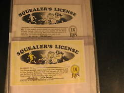 1964 Topps Nutty Awards 2 Proof Card Set 16