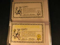 1964 Topps Nutty Awards 2 Proof Card Set 6