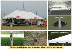 20' x 60' Classic Series Pole Tent Party Wedding Marquee