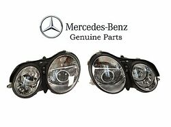 Pair Left And Right Genuine Oem Headlights For Mercedes Benz Cl500 Cl55 Cl600 Cl65