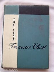 1959 Madison Heights High School Yearbook, Anderson, Indiana Treasure Chest