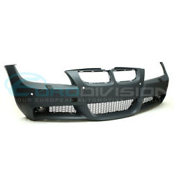 BMW 3 Series E90 Pre-LCI Sedan M-Sport Style Front Bumper-With Headlight Washers