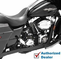 Black Vance And Hines Dresser True Duals Header Pipes Exhaust 95-08 Harley Touring