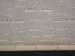 1953 June 7 New York Times Princeton Acquires Portrait First Patron - Nt 4688