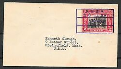 United States Covers 1930 Shipcover Knsm Ss Luna To Springfield