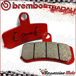 Front Brake Pads Brembo Sa Red Sintered Harley Davidson Softail Deluxe 1690 2013