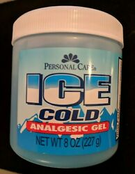 6 Jars Ice Cold Analgesic Gel Sore Muscle Ache Rub Pain Relief Menthol Cream