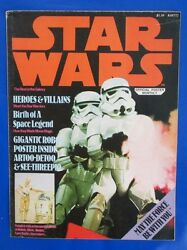 1977 Star Wars Official Poster Monthly Fn 6.0 R2d2 C3po Stormtroopers Vader