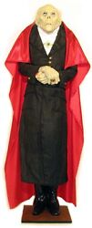 The Count Dracula Life Size Prop Halloween Statue New Vampire Prop 6ft Tall