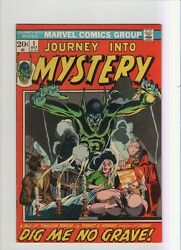 Journey Into Mystery 1-5 - Lot Of 5 Starlin And Ploog - 1972 Grade 6.0-7.5 Wh