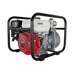 Water Pump - 3 Intake/outlet - 6.5 Hp - Honda Engine G X - Suction Feet 26'