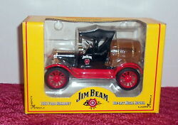 Jim Beam Authentic 1918 Ford Barrel Runabout Truck 1998 Diecast Ertl Bank H860