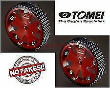 TOMEI Cam GearIN EX FOR LANCER EVOLUTION EVO8 CT9A 4G63 pulley 152012 x2