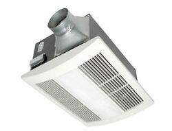 Panasonic Bathroom Low Profile Exhaust Fan Vent Heater Light 110 CFM Quiet New