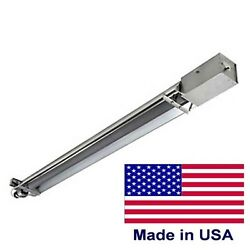 Infrared Natural Gas Heater - Vacuum Straight Tube - 50k To 175k Btu - 15 To 50'