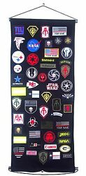 Army Military Patch Holder Board Display Wall Door Hanging Display Frame