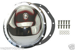 Chrome W/bols Differential Front Cover For Gm 10 Bolt Truck 4x4 Chevy Gm 8.5