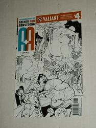 Valiant Aanda Adventures Of Archer And Armstrong 4 150 Lafuente Sketch Variant Nm
