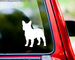 French Bulldog Dog vinyl decal sticker 5